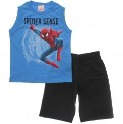 Conjunto Homem Aranha Menino Regata Spider Sense 30005