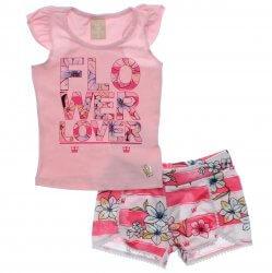 Conjunto Infantil Colorittá Menina Flower Lover 31600