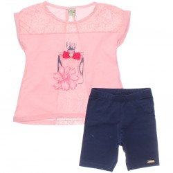 Conjunto Infantil Have Fun Menina Perfume Tachas 30202