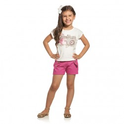 Conjunto Infantil Menina Elian Câmera Fotográfica 30026