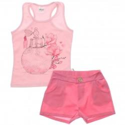 Conjunto Infantil Menina Elian Perfume Strass 30030