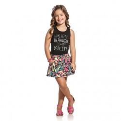 Conjunto Infantil Menina Elian Walking Fashion 30018