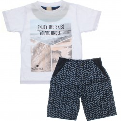 Conjunto Infantil Menino Colorittá Enjoy the Skies 30578