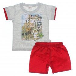 Conjunto Infantil Menino Elian Camiseta Off Road 31471