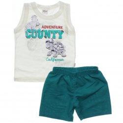 Conjunto Infantil Menino Elian Regata Adventure County 31470