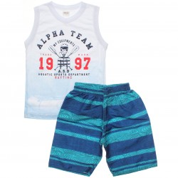 Conjunto Infantil Menino Elian Regata Alpha Team 30818
