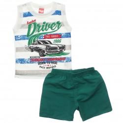 Conjunto Infantil Menino Elian Regata Driver 30817