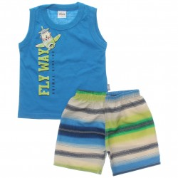 Conjunto Infantil Menino Elian Regata Fly Way 30037