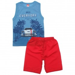 Conjunto Infantil Menino Elian Regata Speed Everyday 30800