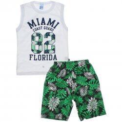 Conjunto Infantil Menino Livy Regata Miami Florida 31811