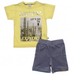 Conjunto Infantil Menino Time Kids Arizona Explore 31828