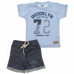 Conjunto Infantil Menino Time Kids Brooklyn 31829