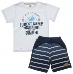 Conjunto Infantil Menino Time Kids Forest Camp 31834