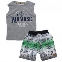 Conjunto Infantil Menino Time Kids Regata Paradise 31831