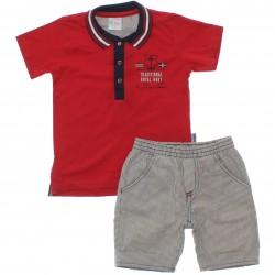 Conjunto Infantil Paraíso Menino Polo Navy 30308