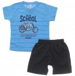 Conjunto Infantil Pulla Bulla Menino Old School 30121