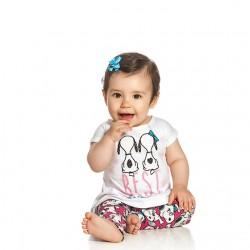 Conjunto Infantil Snoopy Menina Best Friends 30083