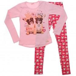 Conjunto Inverno Infantil Colorittá Legging Estampada 30867
