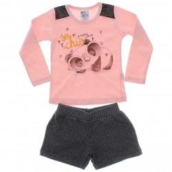 Conjunto Inverno Pulla Bulla Infantil Panda Oculos 29627