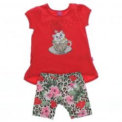 Conjunto Marie Infantil Menina Bata Tachas Gel Glitter 27644