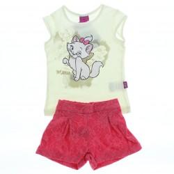 Conjunto Marie Infantil Menina Shorts Em Renda -28569