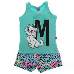 Conjunto Marie Infantil Menina Shorts Floral Regata M On�a