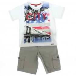Conjunto Mundi Infantil Menino Camiseta City 28648