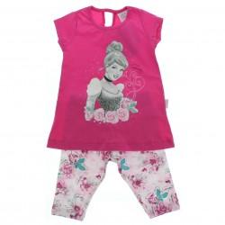 Conjunto Princesas Disney Infantil Cinderella Legg 28583