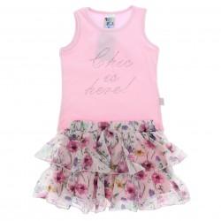 Conjunto Pulla Bulla Infantil Menina Chic Strass 29183