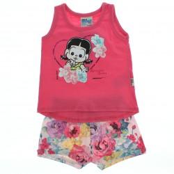Conjunto Rosinha Baby Beb� Menina Shorts Floral 27643