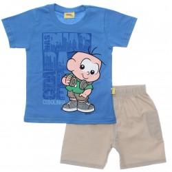 Conjunto Turma da M�nica Camiseta Cebolinha 29931