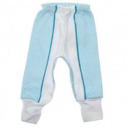 Culote Petutinha Bebê Menino Faixa Quadriculada - 29863
