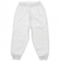 Culote Petutinha Suedine Sem Pé Branco Infantil 1ao3 - 29861