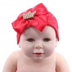Faixa Paraíso Bebê Meia Calça Laço Strass Coroa 31191