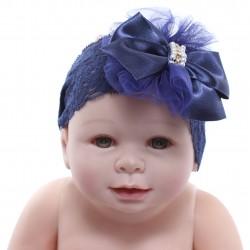Faixa Paraíso Bebê Renda Aplique Fuxico Laço Strass 31193