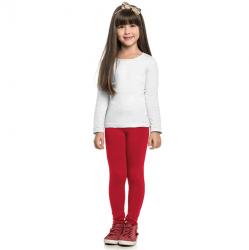 Legging Infantil Elian Cotton Lisa Básica 30992