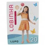 Meia Calça Lobinha Fio 20 Transparente - 13341