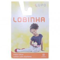 Meia Calça Lobinha Fio 70 Cotton Elastano Infantil - 04540