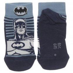Meia Soquete Batman Infantil Estampas Sortidas Cano Curto - 30525