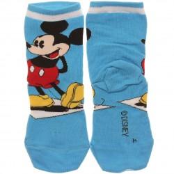 Meia Soquete Mickey Disney Infantil Menino Sortida - 29457