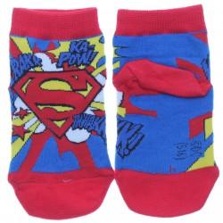 Meia Soquete Superman Infantil Menino Estampa Sortida 27018
