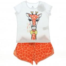 Pijama Brandili Infantil Menina Animais 28630