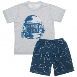 Pijama de Verão Brandili Infantil Menino Capacete Dream 30668