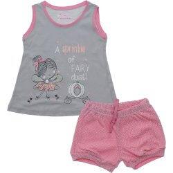 Pijama Infantil Have Fun Menina Regata Fada Glitter Shorts 31754