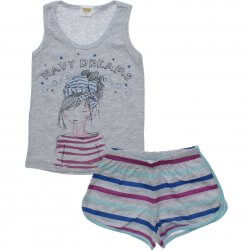Pijama Infantil Have Fun Menina Regata Navy Dreams 31751
