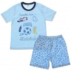 Pijama Infantil Have Fun Menino Acessórios Futebol 30172