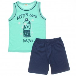 Pijama Infantil Have Fun Menino Artista de Rua 30176