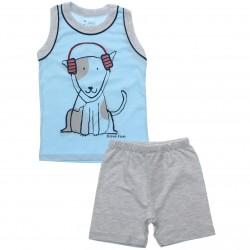 Pijama Infantil Have Fun Menino Cachorro Fone 30735