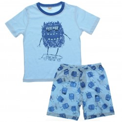 Pijama Infantil Have Fun Menino Monstro Skate 30739