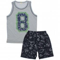 Pijama Infantil Have Fun Menino Sport Fun Bermuda 31764